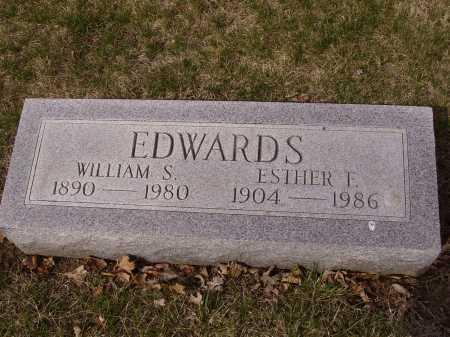 EDWARDS, WILLIAM S. - Franklin County, Ohio | WILLIAM S. EDWARDS - Ohio Gravestone Photos