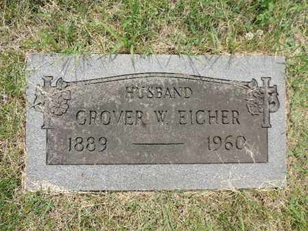 EICHER, GROVER - Franklin County, Ohio | GROVER EICHER - Ohio Gravestone Photos