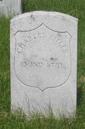 EIFLER, CHARLES - Franklin County, Ohio   CHARLES EIFLER - Ohio Gravestone Photos
