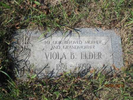 JOHNSON ELDER, VIOLA B - Franklin County, Ohio | VIOLA B JOHNSON ELDER - Ohio Gravestone Photos