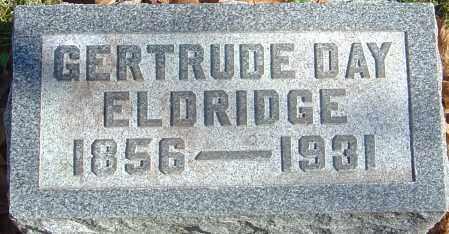 DAY ELDRIDGE, GERTRUDE - Franklin County, Ohio | GERTRUDE DAY ELDRIDGE - Ohio Gravestone Photos