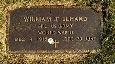 ELHARD, WILLIAM T. - Franklin County, Ohio   WILLIAM T. ELHARD - Ohio Gravestone Photos
