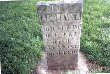 ELL, ANDREW T. - Franklin County, Ohio | ANDREW T. ELL - Ohio Gravestone Photos