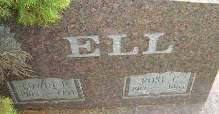ELL, ROSE C - Franklin County, Ohio | ROSE C ELL - Ohio Gravestone Photos