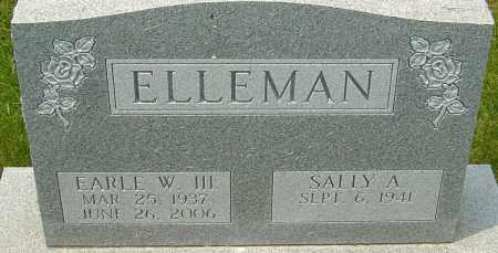 ELLEMAN, EARLE W - Franklin County, Ohio | EARLE W ELLEMAN - Ohio Gravestone Photos