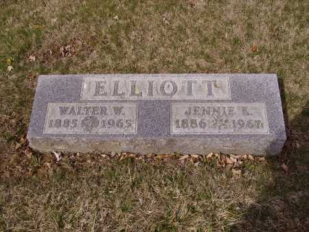 ELLIOTT, JENNIE K. - Franklin County, Ohio | JENNIE K. ELLIOTT - Ohio Gravestone Photos