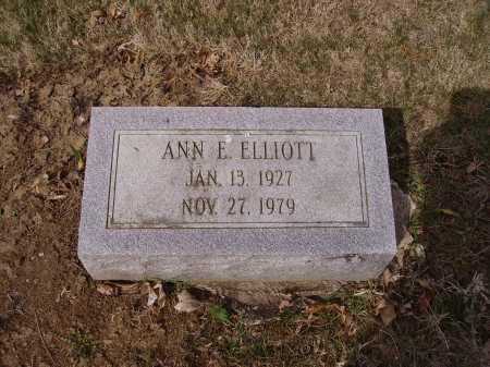 ELLIOTT, ANN E. - Franklin County, Ohio | ANN E. ELLIOTT - Ohio Gravestone Photos