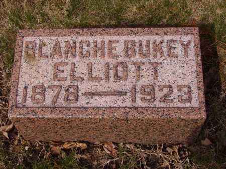 BUKEY ELLIOTT, BLANCHE - Franklin County, Ohio | BLANCHE BUKEY ELLIOTT - Ohio Gravestone Photos