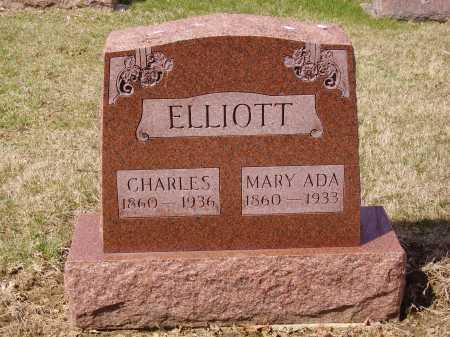 ELLIOTT, MARY ADA - Franklin County, Ohio   MARY ADA ELLIOTT - Ohio Gravestone Photos