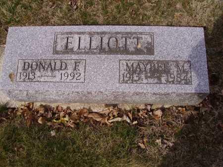 ELLIOTT, DONALD - Franklin County, Ohio | DONALD ELLIOTT - Ohio Gravestone Photos
