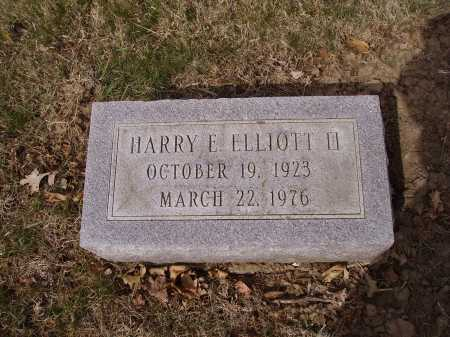 ELLIOTT, II, HARRY E. - Franklin County, Ohio | HARRY E. ELLIOTT, II - Ohio Gravestone Photos