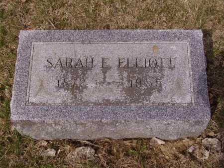 ELLIOTT, SARAH E. - Franklin County, Ohio | SARAH E. ELLIOTT - Ohio Gravestone Photos