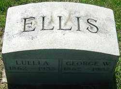 ELLIS, LUELLA - Franklin County, Ohio | LUELLA ELLIS - Ohio Gravestone Photos