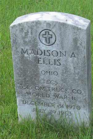 ELLIS, MADISON A. - Franklin County, Ohio   MADISON A. ELLIS - Ohio Gravestone Photos
