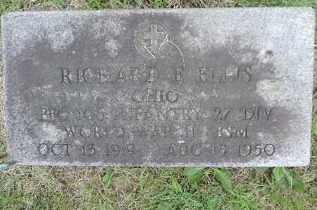 ELLIS, RICHARD E. - Franklin County, Ohio | RICHARD E. ELLIS - Ohio Gravestone Photos