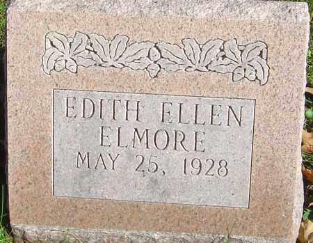 ELMORE, EDITH ELLEN - Franklin County, Ohio   EDITH ELLEN ELMORE - Ohio Gravestone Photos