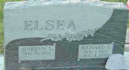 ELSEA, RICHARD E - Franklin County, Ohio | RICHARD E ELSEA - Ohio Gravestone Photos