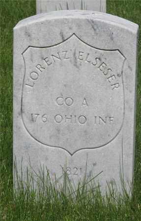 ELSESER, LORENZ - Franklin County, Ohio   LORENZ ELSESER - Ohio Gravestone Photos