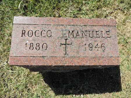 EMANUELE, ROCCO - Franklin County, Ohio | ROCCO EMANUELE - Ohio Gravestone Photos