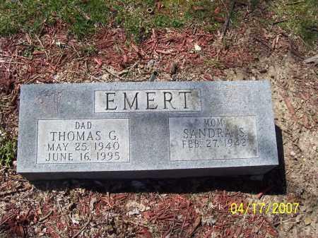 EMERT, THOMAS G - Franklin County, Ohio | THOMAS G EMERT - Ohio Gravestone Photos