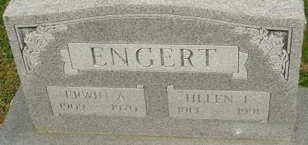 ENGERT, HELEN - Franklin County, Ohio | HELEN ENGERT - Ohio Gravestone Photos