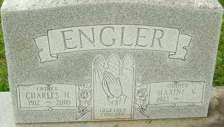 ENGLER, CHARLES H - Franklin County, Ohio   CHARLES H ENGLER - Ohio Gravestone Photos