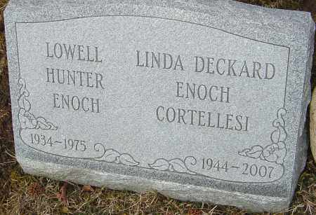 ENOCH, LOWELL HUNTER - Franklin County, Ohio | LOWELL HUNTER ENOCH - Ohio Gravestone Photos