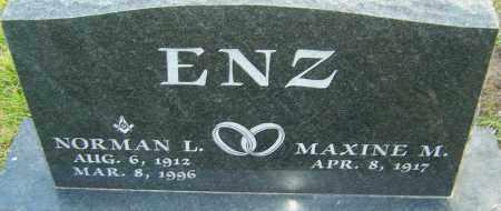 ENZ, NORMAN - Franklin County, Ohio | NORMAN ENZ - Ohio Gravestone Photos