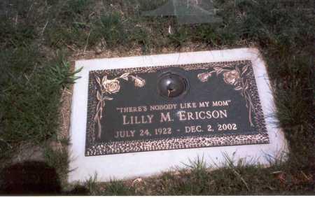 KESSLER ERICSON, LILLY - Franklin County, Ohio   LILLY KESSLER ERICSON - Ohio Gravestone Photos