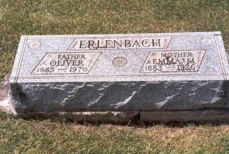 ERLENBACH, EMMA M. - Franklin County, Ohio | EMMA M. ERLENBACH - Ohio Gravestone Photos