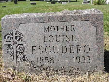 ESCUDERO, LOUISE - Franklin County, Ohio   LOUISE ESCUDERO - Ohio Gravestone Photos