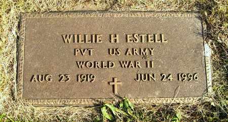 ESTELL, WILLIE H. - Franklin County, Ohio | WILLIE H. ESTELL - Ohio Gravestone Photos