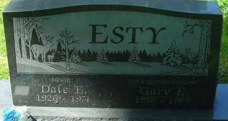 ESTY, GARY E - Franklin County, Ohio | GARY E ESTY - Ohio Gravestone Photos