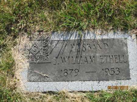 ETHELL, JAMES WILLIAM - Franklin County, Ohio   JAMES WILLIAM ETHELL - Ohio Gravestone Photos