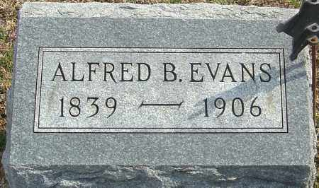 EVANS, ALFRED B - Franklin County, Ohio | ALFRED B EVANS - Ohio Gravestone Photos