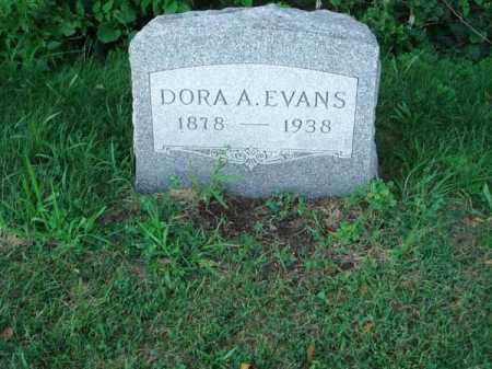 EVANS, DORA A. - Franklin County, Ohio   DORA A. EVANS - Ohio Gravestone Photos