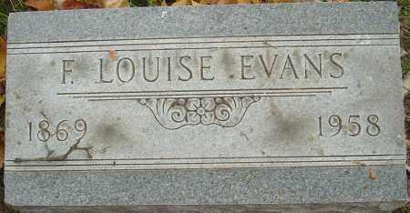 EVANS, FLORENCE LOUISE - Franklin County, Ohio   FLORENCE LOUISE EVANS - Ohio Gravestone Photos