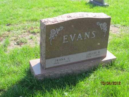 BALDSCHUN EVANS, LOUISE M - Franklin County, Ohio | LOUISE M BALDSCHUN EVANS - Ohio Gravestone Photos