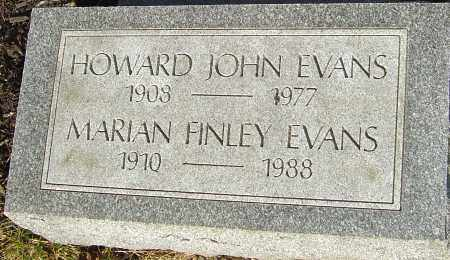 EVANS, HOWARD - Franklin County, Ohio | HOWARD EVANS - Ohio Gravestone Photos