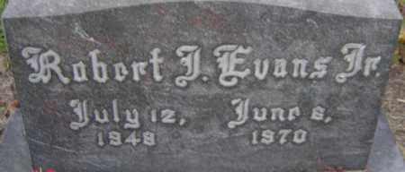 EVANS JR., ROBERT J - Franklin County, Ohio   ROBERT J EVANS JR. - Ohio Gravestone Photos