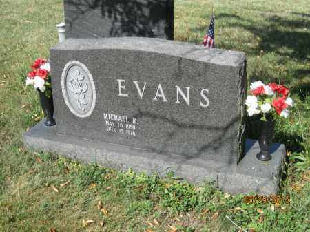 EVANS, MICHAEL RAY - Franklin County, Ohio | MICHAEL RAY EVANS - Ohio Gravestone Photos