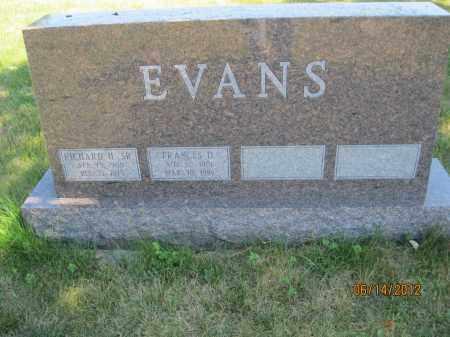 DAVIS EVANS, FRANCES VIVIAN - Franklin County, Ohio | FRANCES VIVIAN DAVIS EVANS - Ohio Gravestone Photos