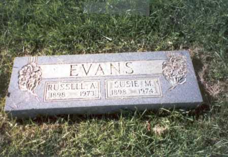 KESSLER EVANS, SUSIE M. - Franklin County, Ohio | SUSIE M. KESSLER EVANS - Ohio Gravestone Photos