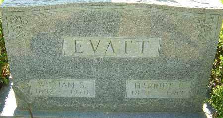EVATT, HARRIET F - Franklin County, Ohio | HARRIET F EVATT - Ohio Gravestone Photos
