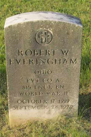 EVERINGHAM, ROBERT W. - Franklin County, Ohio   ROBERT W. EVERINGHAM - Ohio Gravestone Photos