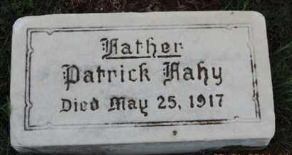 FAHY, PATRICK - Franklin County, Ohio | PATRICK FAHY - Ohio Gravestone Photos