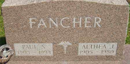 FANCHER, ALTHEA J - Franklin County, Ohio | ALTHEA J FANCHER - Ohio Gravestone Photos