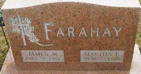 FARAHAY, MARTHA E - Franklin County, Ohio | MARTHA E FARAHAY - Ohio Gravestone Photos