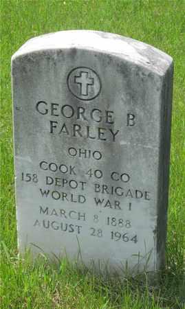 FARLEY, GEORGE B. - Franklin County, Ohio | GEORGE B. FARLEY - Ohio Gravestone Photos