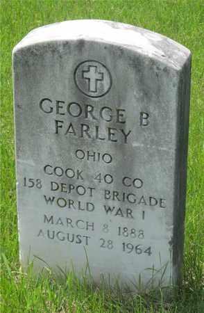 FARLEY, GEORGE B - Franklin County, Ohio | GEORGE B FARLEY - Ohio Gravestone Photos